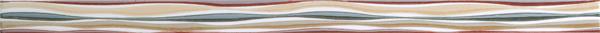 Die Bordüre ist mit jeder Fliese kombinierbar