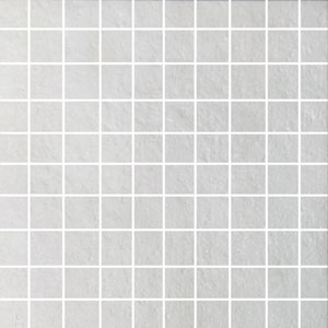 Das Mosaik besteht aus Feinsteinzeug