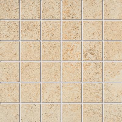 Beschreibung:  Weiss  Format: 5 x 5 cm, Mattengröße:30 x 30 cm  Material: Feinsteinzeug, kalibriert R-Klasse 10 B durchgefärbt