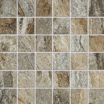 Beschreibung:  Grau Format: 5 x 5 cm, Mattengröße:30 x 30 cm  Material: Feinsteinzeug, kalibriert R-Klasse 10 B durchgefärbt